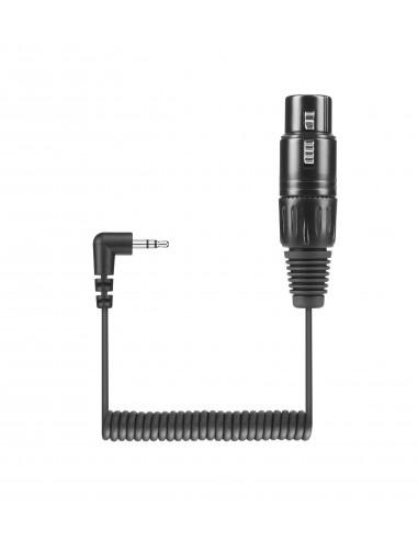 Sennheiser KA 600 audiokaapeli 0,4 m XLR (3-pin) 3.5mm Musta Sennheiser 505633 - 1