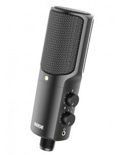 RØDE NT-USB Studiomikrofoni Musta Rode 400400030 - 1