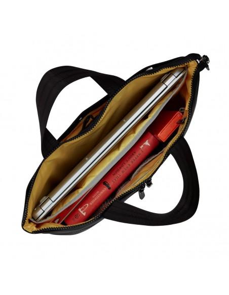 """Knomo COPENHAGEN laukku kannettavalle tietokoneelle 35,6 cm (14"""") Salkku Musta Knomo 129-101-BLK2 - 4"""