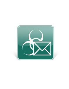 Kaspersky Lab Security for Mail Server, 250-499U, 1Y, GOV, RNW Julkishallinnon lisenssi (GOV) 1 vuosi/vuosia Kaspersky KL4313XAT