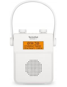 TechniSat DIGITRADIO 30 Kannettava Analoginen & digitaalinen Valkoinen Technisat 0001/3955 - 1