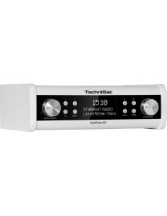TechniSat DigitRadio 20 Kannettava Analoginen & digitaalinen Valkoinen Technisat 0001/4987 - 1