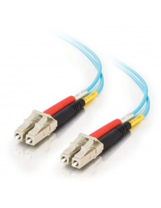 C2G 2m LC-LC 10Gb 50/125 OM3 Duplex Multimode PVC (LSZH) - Aqua C2g 85550 - 1