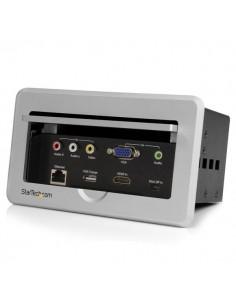 StarTech.com Anslutningslåda för konferensbord – HDMI/VGA/Mini DisplayPort till HDMI-utgång med USB-snabbladdningsport Startech