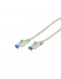 S-Conn 75711-0.25 verkkokaapeli 0.25 m Cat6a S/FTP (S-STP) Harmaa No-name 75711-0.25 - 1