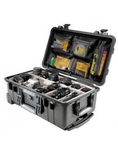 Peli 1510 Carry On Case varustekotelo Musta Peli 480175 - 1