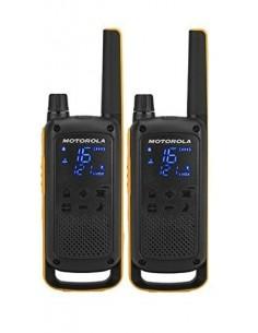 Motorola T82 Extreme Twin Pack radiopuhelin 16 channels Black,Orange Motorola 188069 - 1