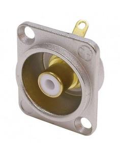 Neutrik NF2D-9 liitinjohto RCA female Kulta, Metallinen, Valkoinen Neutrik NF2D-9 - 1