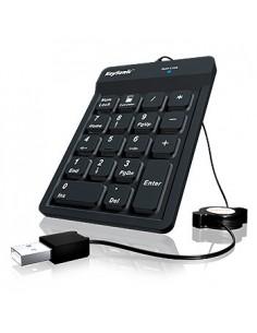KeySonic ACK-118BK Numeerinen näppäimistö USB Universaali Musta Keysonic 22084 - 1