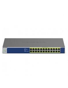 Netgear GS524PP Unmanaged Gigabit Ethernet (10/100/1000) Power over (PoE) Grey Netgear GS524PP-100EUS - 1