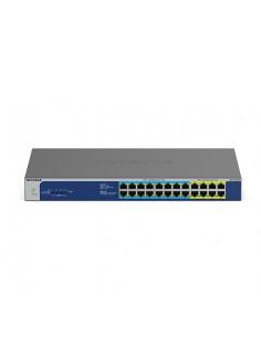 Netgear GS524UP Hallitsematon Gigabit Ethernet (10/100/1000) Power over -tuki Harmaa Netgear GS524UP-100EUS - 1