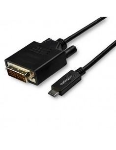 StarTech.com CDP2DVI3MBNL videokaapeli-adapteri 3 m USB Type-C DVI-D Musta Startech CDP2DVI3MBNL - 1
