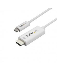 StarTech.com CDP2HD2MWNL videokaapeli-adapteri 2 m USB Type-C HDMI-tyyppi A (vakio) Valkoinen Startech CDP2HD2MWNL - 1