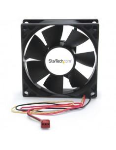 StarTech.com FANBOX2 tietokoneen jäähdytyskomponentti Tietokonekotelo Tuuletin 8 cm Musta Startech FANBOX2 - 1