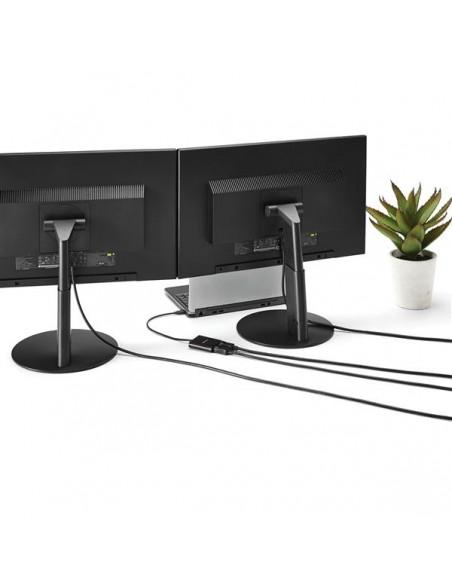 StarTech.com 2-Port Multi Monitor Adapter - USB-C to 2x DisplayPort 1.2 Video Splitter USB Type-C DP MST Hub Dual 4K 30Hz or Sta