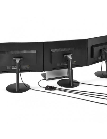 StarTech.com USB C DisplayPort-adapter - 3 portar till DisplayPort MST-hubb Type skärmhubb Startech MSTCDP123DP - 4