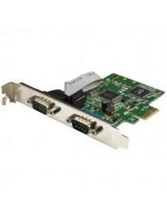 StarTech.com PCI Express seriellt kort med 2 portar och 16C1050 UART - RS232 Startech PEX2S1050 - 1