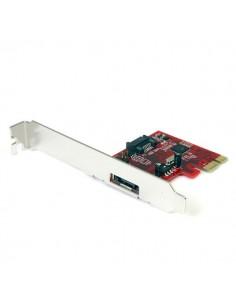 StarTech.com 1x eSATA + SATA 6 Gbps PCI Express SATA-kontrollerkortadapter Startech PEXSAT31E1 - 1