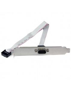 StarTech.com 40 cm seriell 9-stifts hane till 10-stifts sidhuvudstäckplåt på moderkort Startech PLATE9M16 - 1