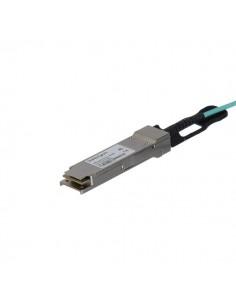 StarTech.com QSFP40GAO15M valokuitukaapeli 15 m QSFP+ Musta Startech QSFP40GAO15M - 1