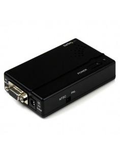 StarTech.com High Resolution VGA to Composite (RCA) or S-Video Converter - PC TV Startech VGA2VID - 1