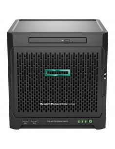 Hewlett Packard Enterprise ProLiant MicroServer Gen10 palvelin 16 TB 1.6 GHz 8 GB Ultra Micro Tower AMD Opteron 200 W DDR4-SDRAM