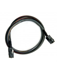 Microsemi ADAPTEC I-HDMSAS-MSAS-.5M CABLE 0.5 m 6 Gbit/s Black Microsemi Storage Solution 2281200-R - 1