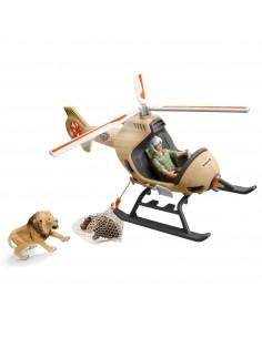 Schleich Wild Life Animal rescue helicopter Schleich 42476 - 1