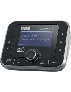Imperial DABMAN 410 Bluetooth Black, Silver Imperial 22-244-00 - 1