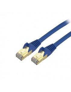 StarTech.com C6ASPAT10BL verkkokaapeli Sininen 3 m Cat6a U/FTP (STP) Startech C6ASPAT10BL - 1