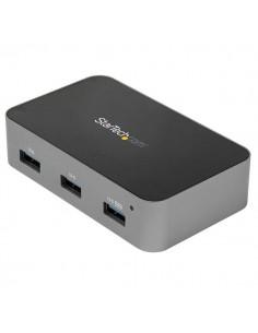 StarTech.com 4-Port USB-C Hub - 10 Gbps 4x USB-A Powered Startech HB31C4AS - 1