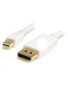 StarTech.com 2 m Mini DisplayPort/DisplayPort Valkoinen Startech MDP2DPMM2MW - 1