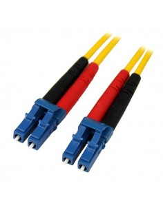 StarTech.com 7m LC/LC SM fiberoptikkablar Gul Startech SMFIBLCLC7 - 1