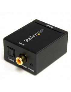 StarTech.com Digital koaxial SPDIF eller optisk Toslink till stereo RCA audio-konverterare Startech SPDIF2AA - 1