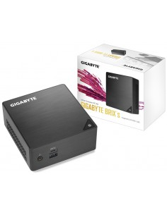Gigabyte GB-BLPD-5005 PC/workstation barebone Black BGA 1090 J5005 1.5 GHz Gigabyte GB-BLPD-5005 - 1