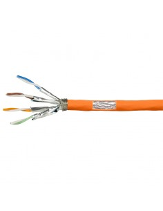 LogiLink CPV0060 verkkokaapeli 100 m Cat7 S/FTP (S-STP) Oranssi Logitech CPV0060 - 1
