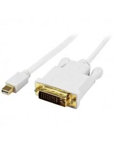 StarTech.com MDP2DVIMM3WS videokaapeli-adapteri 0.9 m Mini DisplayPort DVI-D Valkoinen Startech MDP2DVIMM3WS - 1
