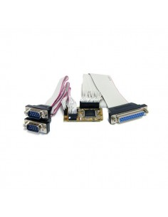 StarTech.com 2s1p Serial Parallel Combo Mini PCI Express Card for Embedded Systems Startech MPEX2S1P552 - 1