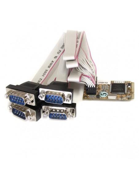 StarTech.com MPEX4S552 nätverkskort/adapters Intern Serial Startech MPEX4S552 - 1