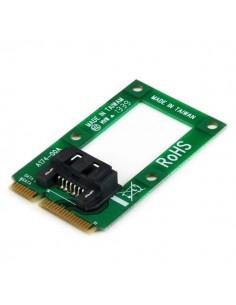StarTech.com mSATA to SATA HDD / SSD Adapter – Mini Converter Card Startech MSAT2SAT3 - 1