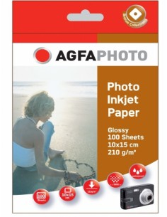 AgfaPhoto AP210100A6 valokuvapaperi Agfaphoto AP210100A6 - 1