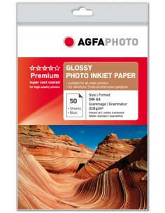 AgfaPhoto AP21050A4 valokuvapaperi Monivärinen Kiilto A4 Agfaphoto AP21050A4 - 1
