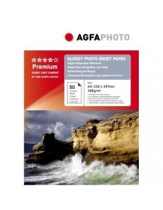 AgfaPhoto AP24050A4N tulostuspaperi A4 (210x297 mm) Kiilto Valkoinen Agfaphoto AP24050A4N - 1