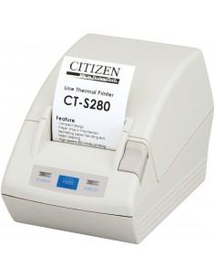 Citizen CT-S280 Suoralämpö Maksupäätetulostin 203 x DPI Langallinen Citizen CTS280UBEWH - 1