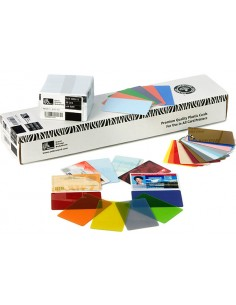 Zebra Premier Colour PVC visitkort 500 styck Zebra 104523-135 - 1