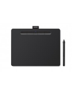 Wacom Intuos S piirtopöytä 2540 lpi 152 x 95 mm USB/Bluetooth Musta Wacom CTL-4100WLK-N - 1