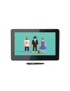 """Wacom Cintiq Pro 16"""" graphic tablet Black 5080 lpi 345 x 194 mm USB Wacom DTH-1620A-EU - 1"""