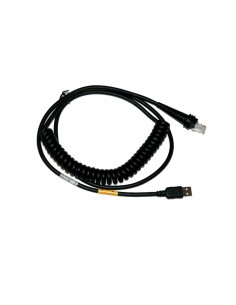 Honeywell CBL-503-500-C00 sarjakaapeli Musta 5 m USB A LAN Honeywell CBL-503-500-C00 - 1