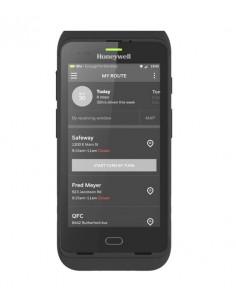"Honeywell CT40 mobiilitietokone 12,7 cm (5"") 1280 x 720 pikseliä Kosketusnäyttö 278 g Musta Honeywell CT40-L1N-2SC110E - 1"