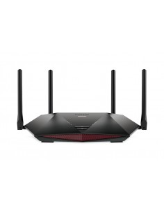 Netgear XR1000 Nighthawk WiFi 6 Gaming Router langaton reititin Gigabitti Ethernet Kaksitaajuus (2,4 GHz/5 GHz) Musta Netgear XR